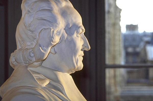 Le buste de l'Abbé Grégoire dans l'anti-chambre de la direction